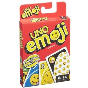 NIB UNO Emoji Card Game